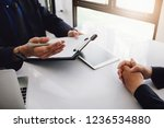 experimental or interviewing hr ... | Shutterstock . vector #1236534880