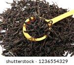 dried black tea leaves | Shutterstock . vector #1236554329