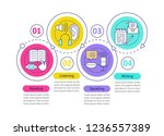 basic language skills vector... | Shutterstock .eps vector #1236557389