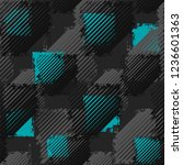 abstract seamless grunge... | Shutterstock .eps vector #1236601363