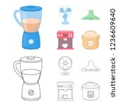blender  extractor and other...   Shutterstock . vector #1236609640