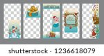 patterns for stories in the... | Shutterstock .eps vector #1236618079