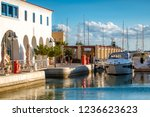 limassol marina seafront... | Shutterstock . vector #1236623623