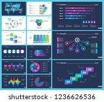 business inforgraphic design... | Shutterstock .eps vector #1236626536