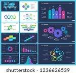 business infographic creative...   Shutterstock .eps vector #1236626539