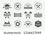 set of vintage carpentry ...   Shutterstock .eps vector #1236627049