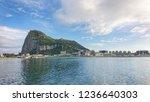 The Rock Of Gibraltar Mountain...