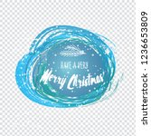 labels with christmas and new... | Shutterstock .eps vector #1236653809