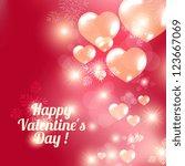 valentine. | Shutterstock .eps vector #123667069