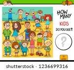 cartoon illustration of... | Shutterstock .eps vector #1236699316