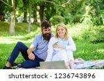 couple in love or family work... | Shutterstock . vector #1236743896