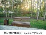bench in the park   Shutterstock . vector #1236744103