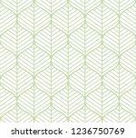 classic leaves art deco...   Shutterstock .eps vector #1236750769