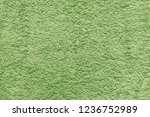 green towel textile background... | Shutterstock . vector #1236752989