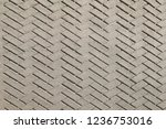 grey ceramic tile pavement... | Shutterstock . vector #1236753016