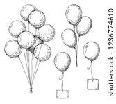 Set Of Different Balloons....