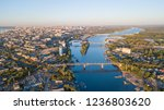 city of samara river and... | Shutterstock . vector #1236803620