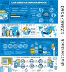 car service infographics  spare ...   Shutterstock .eps vector #1236879160
