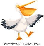 A Happy Pelican Character...