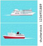 water transport  traveling...   Shutterstock .eps vector #1236951889