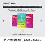 ui design website template for...