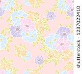 abstract elegance seamless... | Shutterstock .eps vector #1237022410