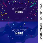 congratulations design template ... | Shutterstock .eps vector #1237048966