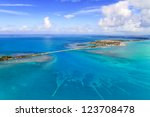 florida keys aerial view from... | Shutterstock . vector #123708478