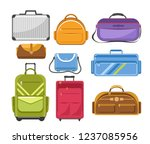 bags different type models of... | Shutterstock .eps vector #1237085956