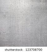 scratched metal texture | Shutterstock . vector #123708700
