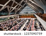 chulalongkorn university ... | Shutterstock . vector #1237090759