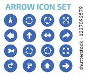 arrow vector icon set | Shutterstock .eps vector #1237093579