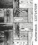 distressed overlay wooden... | Shutterstock .eps vector #1237147039