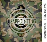 disappointing on camouflaged... | Shutterstock .eps vector #1237151593