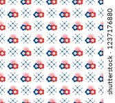 seamless pattern with buttons.... | Shutterstock .eps vector #1237176880