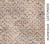 digital tile design. ... | Shutterstock . vector #1237190653