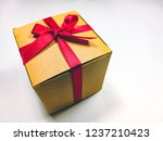 brown presents gift boxes and... | Shutterstock . vector #1237210423