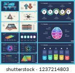 set of strategy or planning... | Shutterstock .eps vector #1237214803