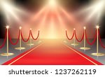vector illustration of red... | Shutterstock .eps vector #1237262119