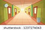 cartoon school or college... | Shutterstock . vector #1237276063
