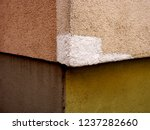 damages on the house wall | Shutterstock . vector #1237282660