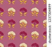 seamless geometric pattern with ... | Shutterstock .eps vector #1237304899