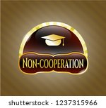 gold shiny badge with... | Shutterstock .eps vector #1237315966