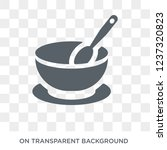 soup bowl icon. soup bowl... | Shutterstock .eps vector #1237320823