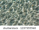 sun glare on the seabed | Shutterstock . vector #1237355560