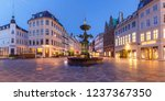 stork fountain on the... | Shutterstock . vector #1237367350