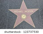 Small photo of HOLLYWOOD - DECEMBER 7: Michael Jackson's star on Hollywood Walk of Fame on December 7, 2012 in Hollywood, California. This star is located on Hollywood Blvd. and is one of 2400 celebrity stars.