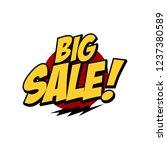 sale sign market store theme... | Shutterstock .eps vector #1237380589
