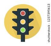 traffic light signal | Shutterstock .eps vector #1237395613