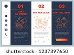 online shopping onboarding... | Shutterstock .eps vector #1237397650